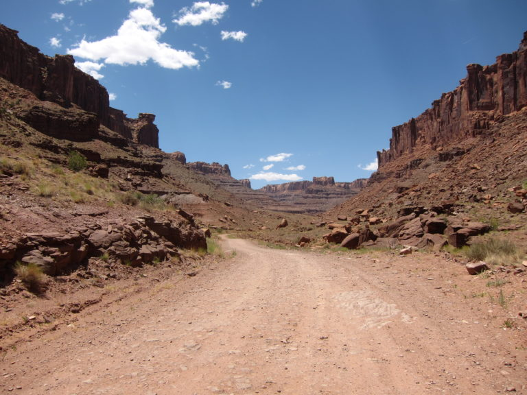bottom of Long Canyon Road