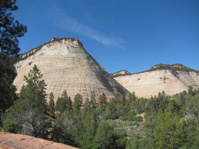 photo of Checkerboard Mesa in Zion National Park