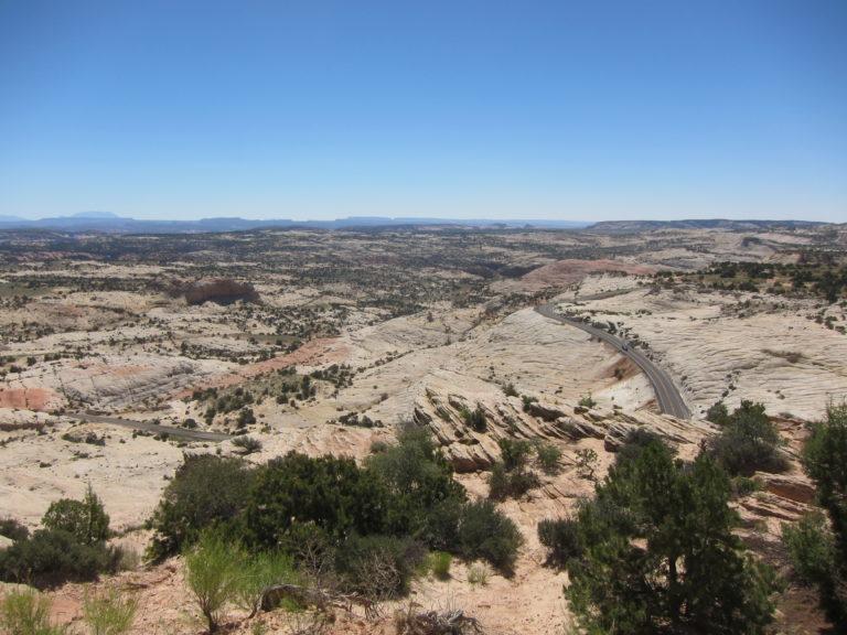 Head of the Rocks Overlook Utah Route 12