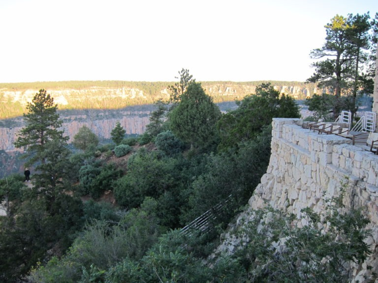 Grand Canyon North Rim at sunrise